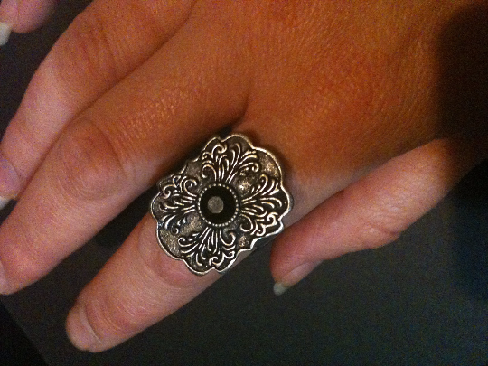 Fashion Friday: The Ring is the Thing